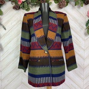 Jackets & Blazers - Anthony Mark Hankins Aztec Blazer 8P
